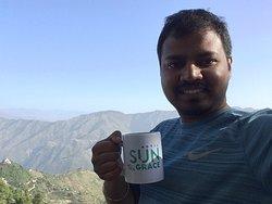 Morning hot tea.!
