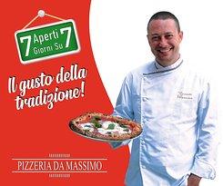 Pizzeria da Massimo aperto 7 su 7