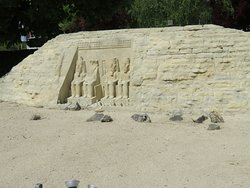 oder der Tempel Abu Simpel...