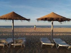 Una playa interminable.