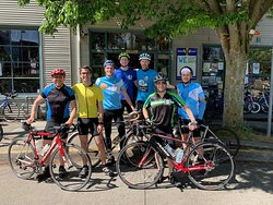A great day and a great group on the Lake Washington Scenic Ride!