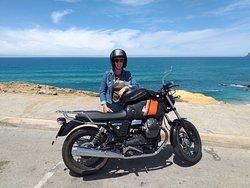 Balade sur la côte ouest portugaise en moto