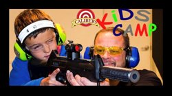 Kids Camp classes are available at Calibers! Teach your children the basic fundamentals of firearm safety! Sign your child up today @calibersusa.com Ages 8 and up