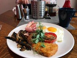 Yummy breakfast.