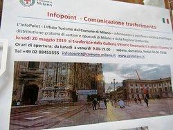 Uffici trasferitisi in Piazza del Duomo 14
