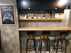 Levain Bakery x Coco Espresso - clean urban industrial design