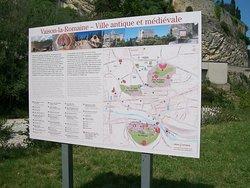 La ville Antique et Médiéval Vaison la Romaine