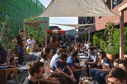 MOB HOTEL - Lyon - Brunch - Restaurant méditerranéen - israélien - italien - pizzeria - rooftop