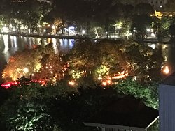 awesome place to view Hanoi