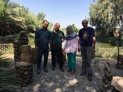 One of our tours near 6000 old civilization, Jiroft Iran  Experience Iran with us