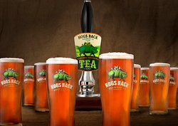 TEA - Traditional English Ale, our flagship beer