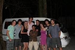 8 people join with my Van, they very happy and enjoy