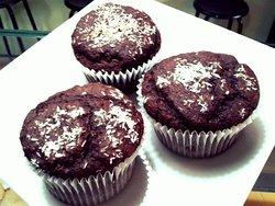 Muffins veganos