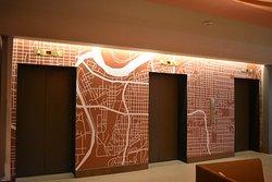 KC city grid mural