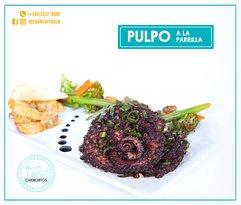 PULPO A LA PARRILLA // OCTOPUS GRILLED