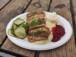 How said Swedish food isn't interesting.  Best fish in Stockholm. Just for a few bucks.