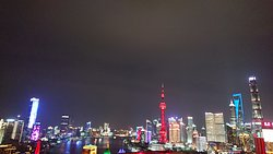 Fabulous view of the Bund from the Rooftop Bar