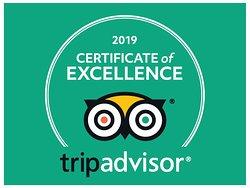 Disney VIP Tour Experiences 2019 TripAdvisor Certificate of Excellence