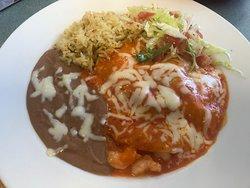 Shrimp Enchilada (on special menu)