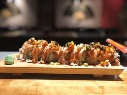 The Mandarin Roll with Tempura Shrimp !