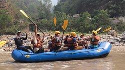 Trishuli river rafting 1night 2day Great time