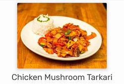Chicken Mushroom Tarkari