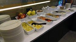 Riverside Restaurant im Crowne Plaza - Frühstück