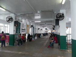 Inside the TST pier before boarding 5