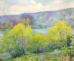 Springtime in France by Abel Warshawsky at the ZMA