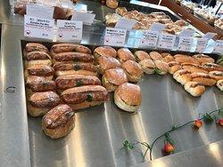 Grote variatie aan broodjes