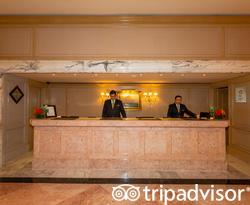 Front Desk at The Ritz-Carlton, Cancun