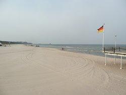 Der breite Strand