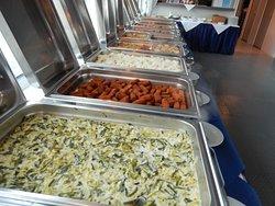 Warm Buffet selection
