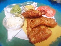 Serata a tema fish&chips: merluzzo impanato