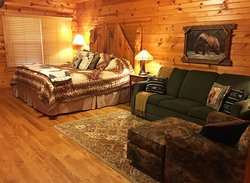 Most cabins are perfect for two!!!