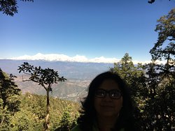 Beautiful views are visible from some points on the trek too...