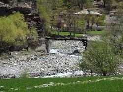 Another typical Bridge in Birir Valley, KALASH, PAKISTAN.