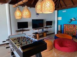 E-zone game room