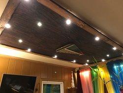 Reception (amazing ceiling)
