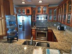 Chef's kitchen.