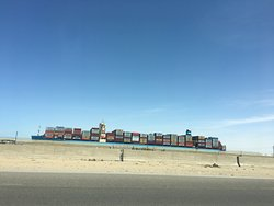 Suez Canal - from Port Said to Sues inkl Bobastis
