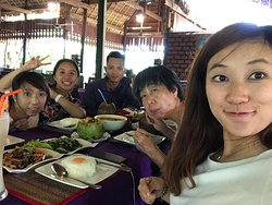 Lunch times nearby Banteay Srey temple