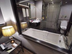 Comfy bedroom Great Spa with good location at Well Hotel Bangkok Sukhumvit 20