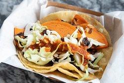 Wild Rice and Yam VEGAN Taco!