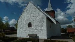 Fårup kirke set fra øst