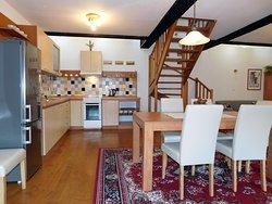 Apartman č.4 kuchyňa