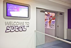 Exterior for Yotel at London Heathrow Airport Terminal 4