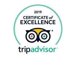 Weŕe highly rated on Tripadvisor! Thanks for the great feedback.