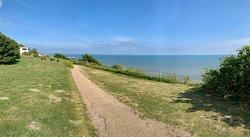 Cliff top walkway