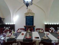 una sala interna
